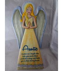 GUARDIAN ANGEL PLAQUE AUNTIE