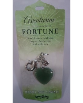 Green Aventurine Key Ring