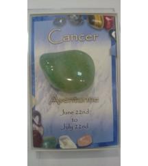 BIRTHSTONE CANCER SIGN GREEN AVENTURINE