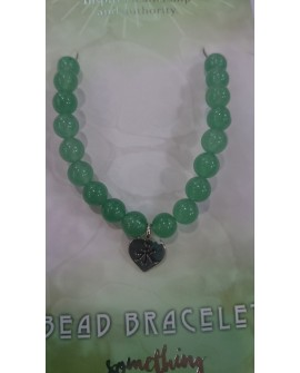 Green Aventurine Bracelet  With Beads