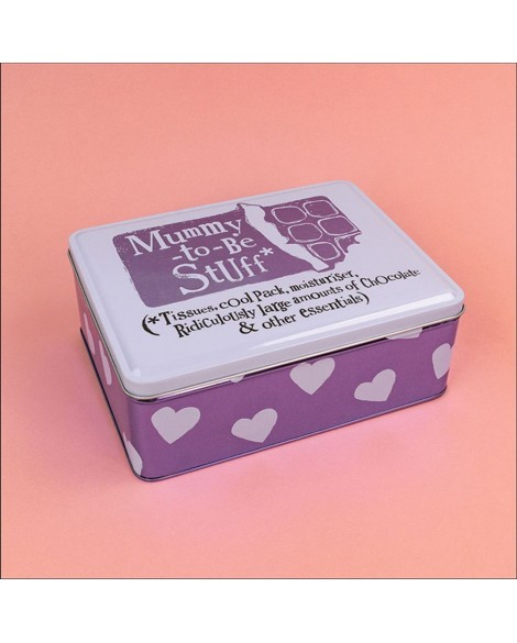 Mum to Be Keepsake Box Tin