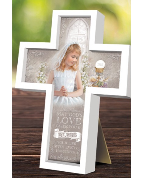 First Holy Communion Cross Girl
