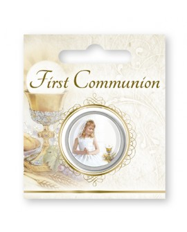 First Holy Communion Pocket Token Girl