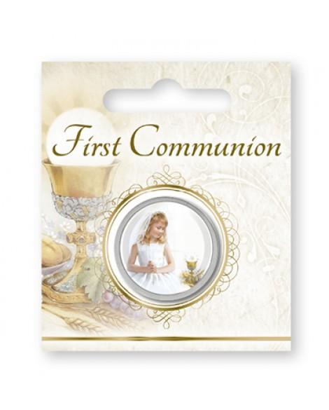 First Holy Communion Pocket Token Girl