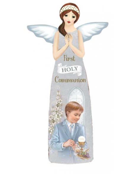 First Holy Communion Porcelain  Angel Plaque