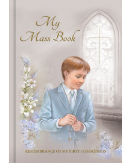 First Holy Communion Prayer Book  Boy