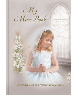 First Holy Communion Prayer Book Girl