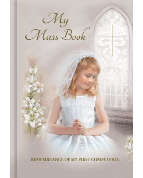 First Holy Communion Prayer Book Girl