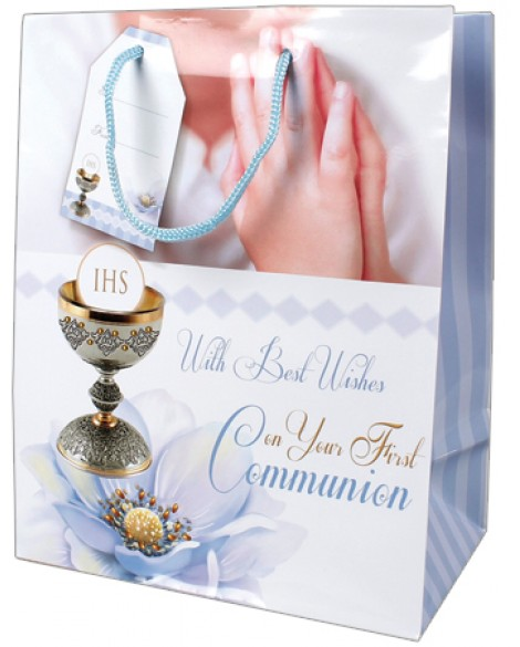First Holy Communion Gift Bag Boy