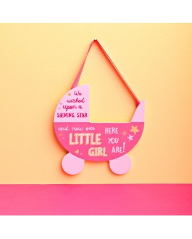 Baby Plaque Pink