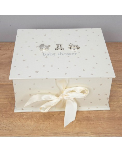 Baby Shower Keepsake Box  Bambino