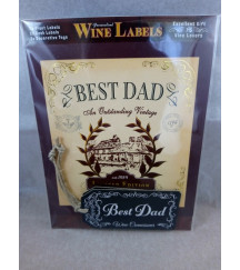 PERSONALISED GIFT - HIM - WINE LABEL - DAD - NOVELTY GIFT