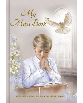 Confirmation Prayer Book Boy
