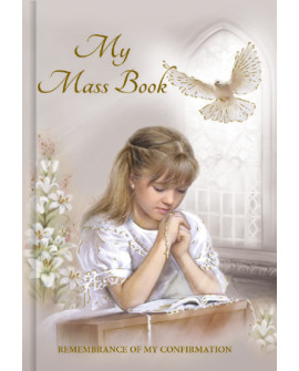 Confirmation Prayer Book Girl