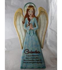 GUARDIAN ANGEL PLAQUE GODMOTHER