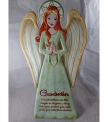 GUARDIAN ANGEL PLAQUE GRANDMOTHER