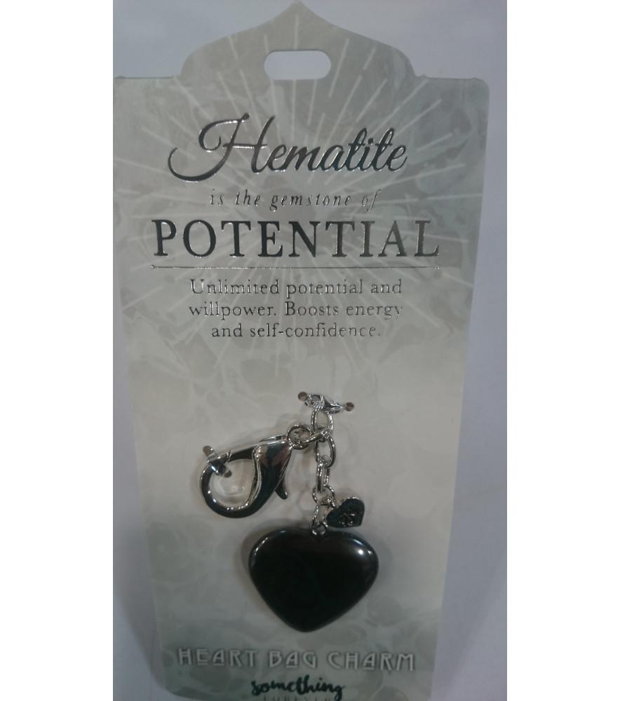 HEMATITE  KEY RING