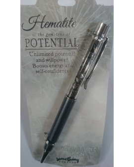 Hematite Gemstone Pen