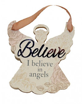 H&H Sentiment Angel Plaque Believe