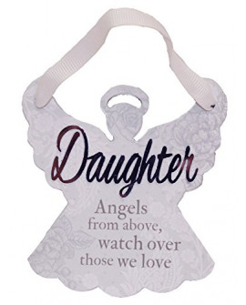 H&H Sentiment Angel Plaque Daughter