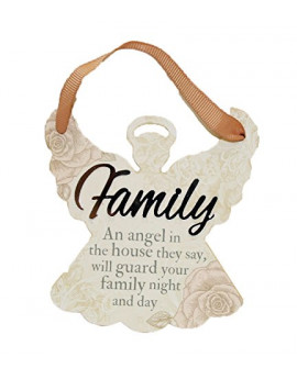 H&H Sentiment Angel Plaque Family