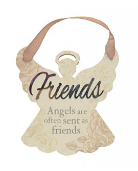 H&H Sentiment Angel Plaque Friends