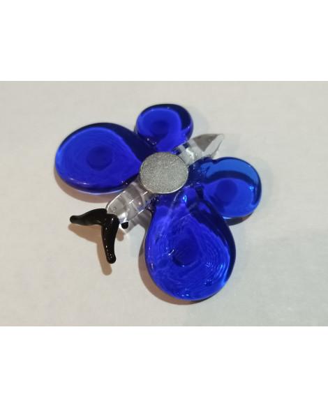 Butterfly Magnet Blue