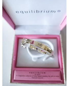 Equilibrium Silver Plated Bangle Daughter