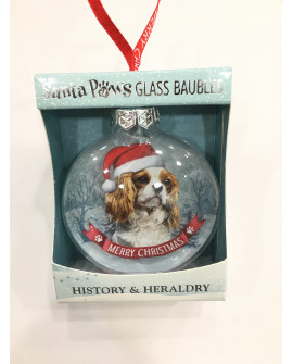 CHRISTMAS TREE DECORATION PERSONALISED DOG CAVALIER KING CHARLES SPANIEL