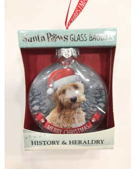 Christmas Tree Decoration Personalised Dog Cockapoo