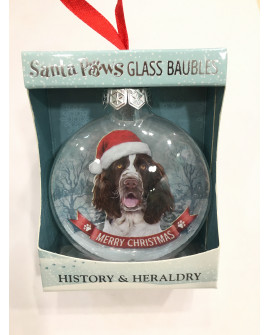 Christmas Tree Decoration Personalised Dog English Cocker Spaniel