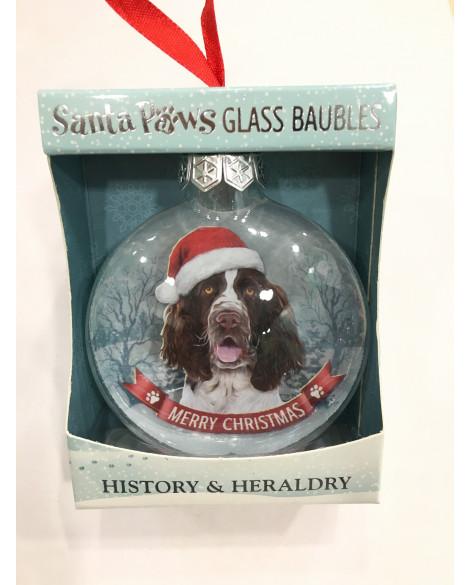 Christmas Tree Decoration Personalised Dog English Cocker Spaniel