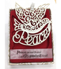 CHRISTMAS TREE DECORATIONS with CRYSTALS FROM SWAROVSKI®  CHRISTMAS PEACE