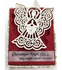 CHRISTMAS TREE DECORATIONS with CRYSTALS FROM SWAROVSKI® ANGEL