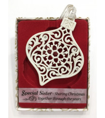CHRISTMAS TREE DECORATION WITH CRYSTALS FROM SWAROVSKI® SPECIAL SISTER