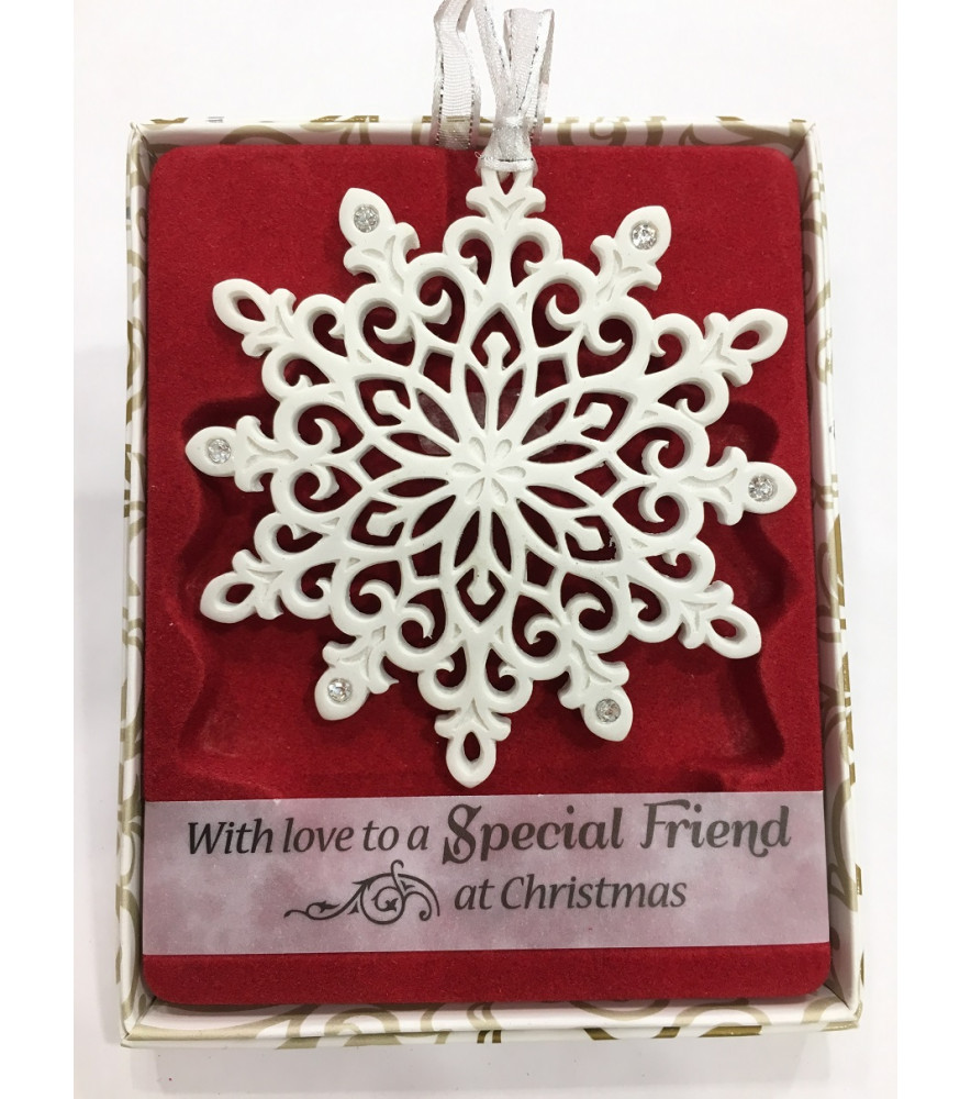 CHRISTMAS TREE DECORATION with CRYSTALS FROM SWAROVSKI® SPECIAL FRIEND