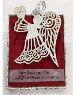 CHRISTMAS TREE DECORATIONS with CRYSTALS FROM Swarovski® SPECIAL NAN