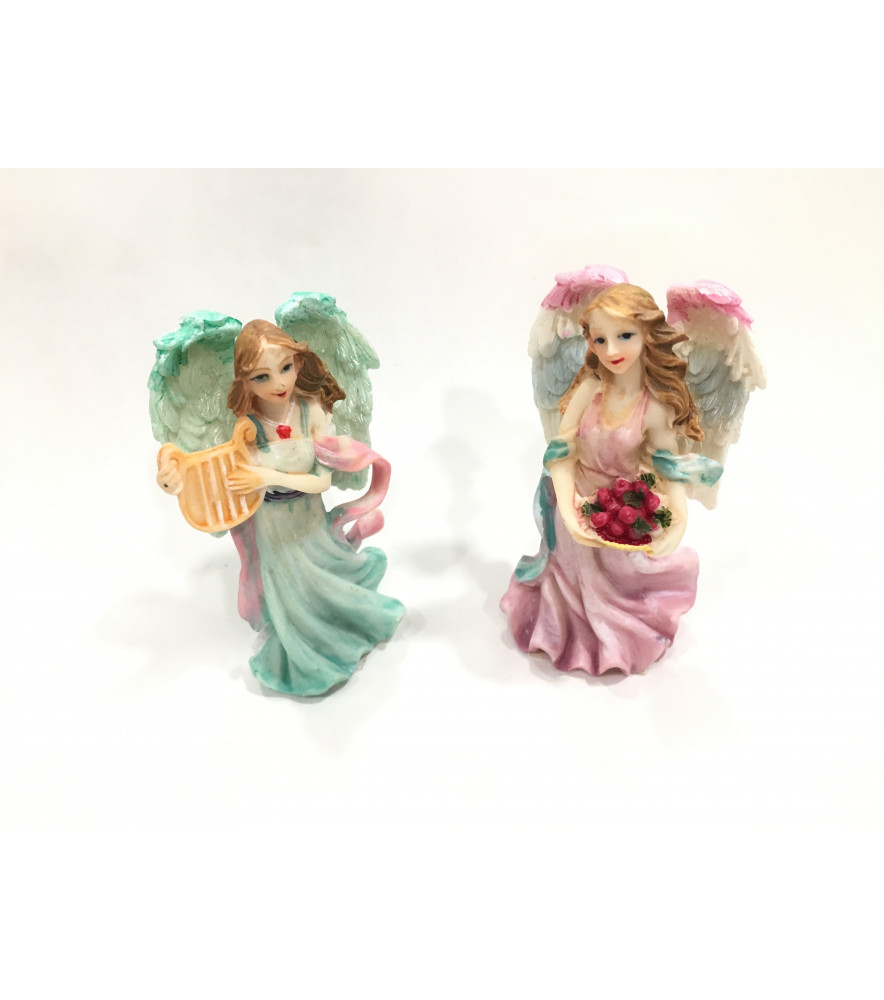 GUARDIAN ANGEL SET OF 2 - SOLD AS SEEN - ORGANZA GIFT BAG INCLUDED