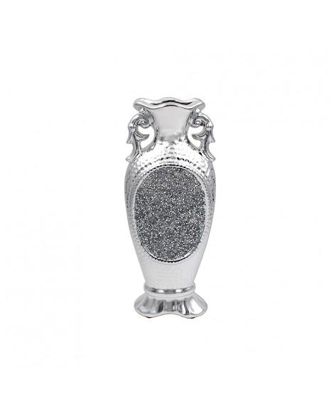 Lesser & Pavey Sparkling Silver Vase 30 cm