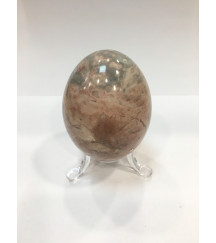 MARBLE EGG PINK + STAND