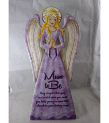 GUARDIAN ANGEL PLAQUE MUM TO BE