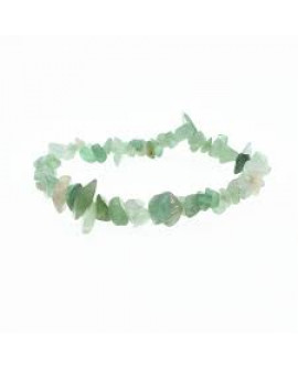 New Jade Gemstone Chip Bracelet