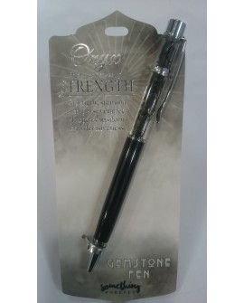 Black Onyx Chips Pen