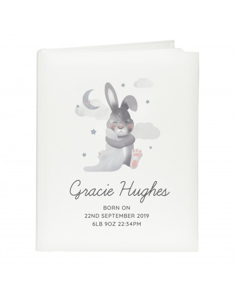 Personalised Baby Bunny Album with Sleeves