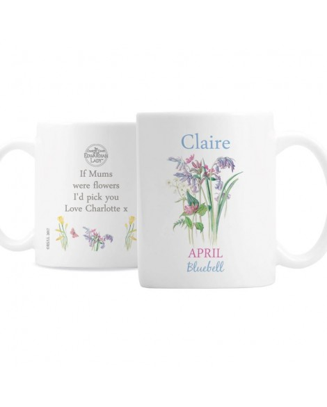 Personalised Country Diary April Mug