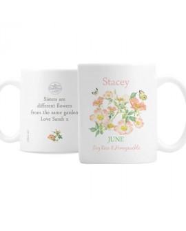 Personalised Country Diary June Mug