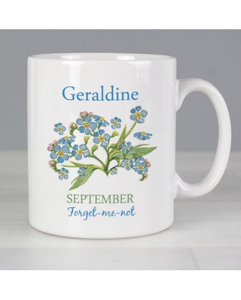 Personalised Country Diary September Mug