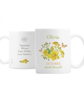 Personalised Country Diary October Mug