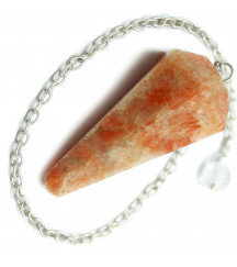 SUNSTONE NATURAL STONE PENDULUM...