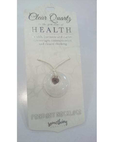 Quartz Crystal Quartz Pendant Necklace